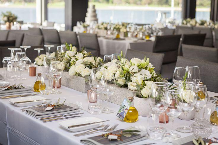 Greek Island themed wedding | Carousel, Albert Park | Concepts & Styling by One Wedding Wish