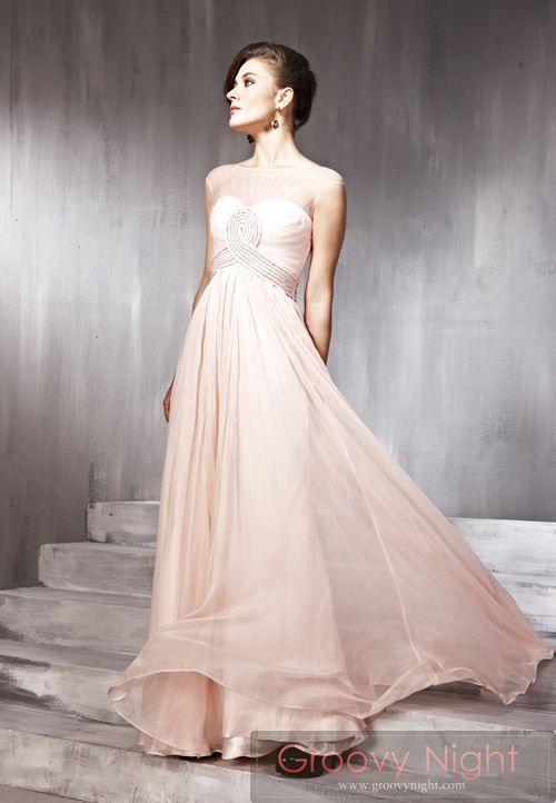 可愛さの中にもしっとりとした大人の雰囲気があるロングドレス♪     - ロングドレス・パーティードレスはGN|演奏会や結婚式に大活躍!