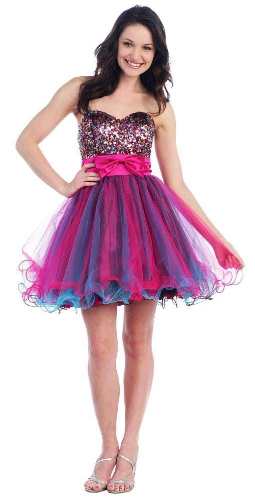 Mejores 199 imágenes de Short Prom Dress <3 en Pinterest | Vestidos ...