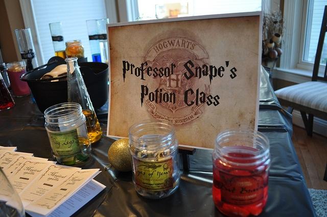 professor snape's potion class   Eli's Harry Potter Party ...   640 x 425 jpeg 124kB