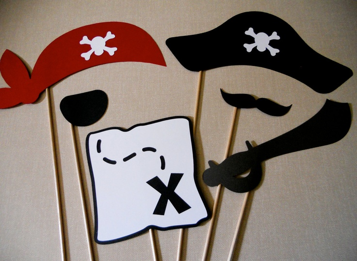 Pirate Photo Props Pirate Photo Booth Props Photo Props