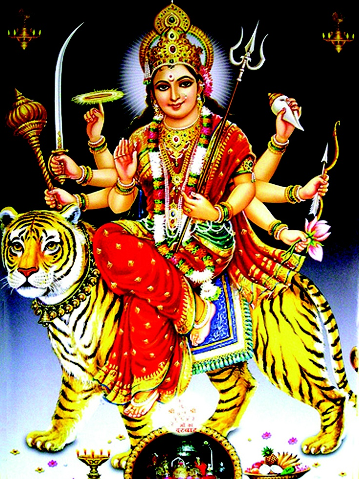 Maa Sherawali Devi ji Photos for Free Download