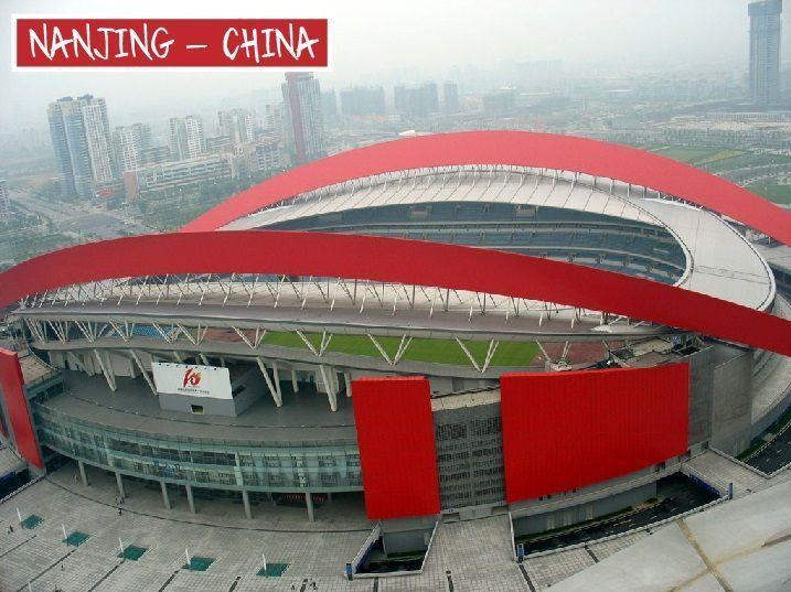 Nanjing Olympic Sports Center Gymnasium - o território chinês abrange 4 fusos horários, mas o governo não se importa muito, e todo o país adota a hora de Pequim. O que faz o sol nascer às 4 da manhã no leste do país, e no oeste, às 9 da manhã.  #engenharia #arquitetura #cursoparaarquiteta #cursoparaengenheiro #cursoautocad #cursorevit #sketchup #nanjing #china