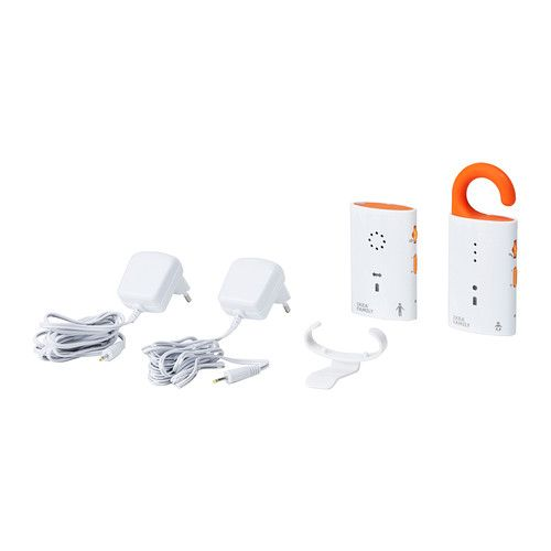 PATRULL Baby monitor IKEA The adult unit clearly indicates if the two units are in or out of range with each other.