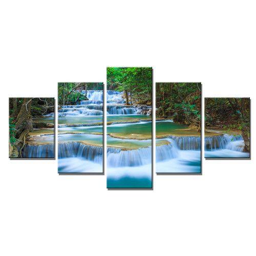 Wasserfall Garten Modern. Metten Brunnen, Wasserspiele Wasser