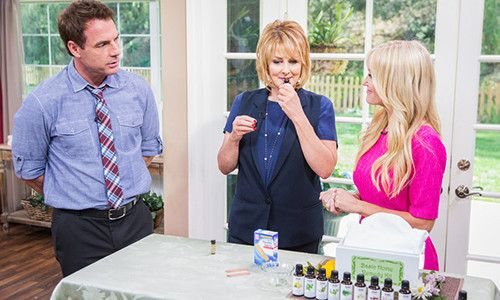 How do you use Essential Oils? Sophie Uliano's Essential Oils 101 segment on Home & Family is a terrific starter for new users. #hallmarkchannel
