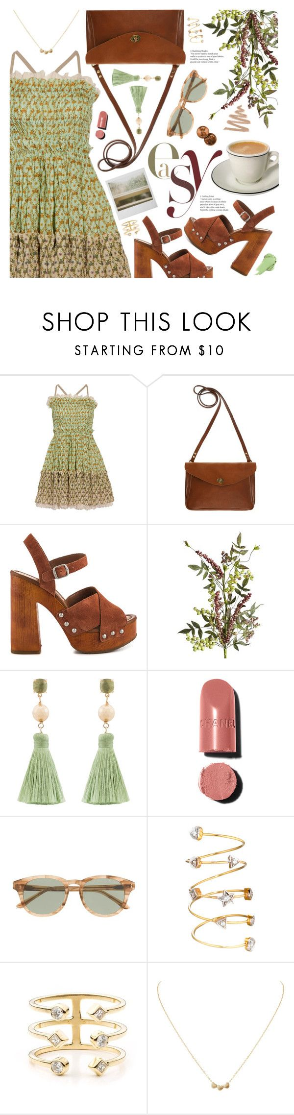 """""""easy"""" by valentino-lover ❤ liked on Polyvore featuring Just Cavalli, Mimi Berry, Lucky Brand, Pier 1 Imports, Atelier Mon, Polaroid, Chanel, J.Crew, DANNIJO and Humble Chic"""