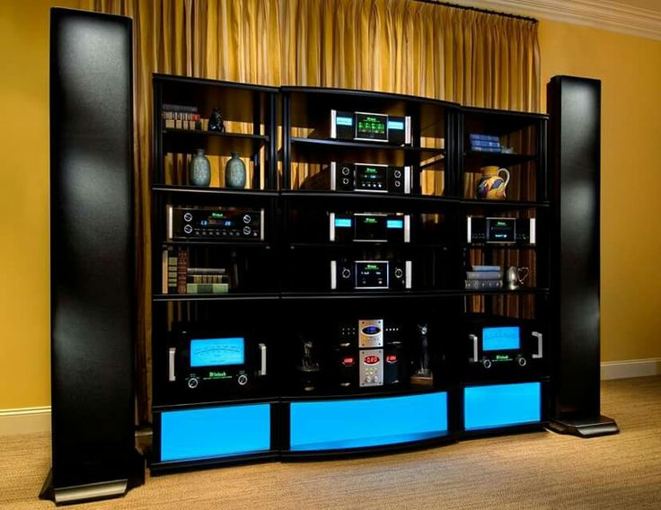 High end audio audiophile McIntosh | HI FI | Audio room ...
