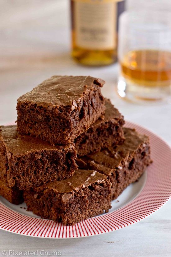 Super Fudgy Five Chocolate Brownies | On the sweet Side | Pinterest