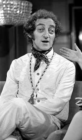 """Martin Alan """"Marty"""" Feldman (1934 - 1982) was an English comedy writer, comedian and actor, easily identified by his bulbous and crooked eyes. He was the first Saturn Award winner for Best Supporting Actor for his role in Young Frankenstein. Feldman died from a heart attack in a hotel room in Mexico City on 2 December 1982, during the making of the film Yellowbear... http://www.imdb.com/name/nm0001204/bio"""