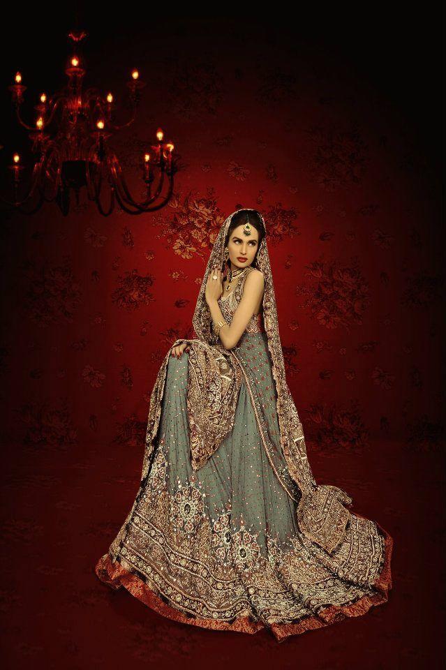 Lajwanti Bridal Wear 2012 & Kundan Jewelry #Pakistani
