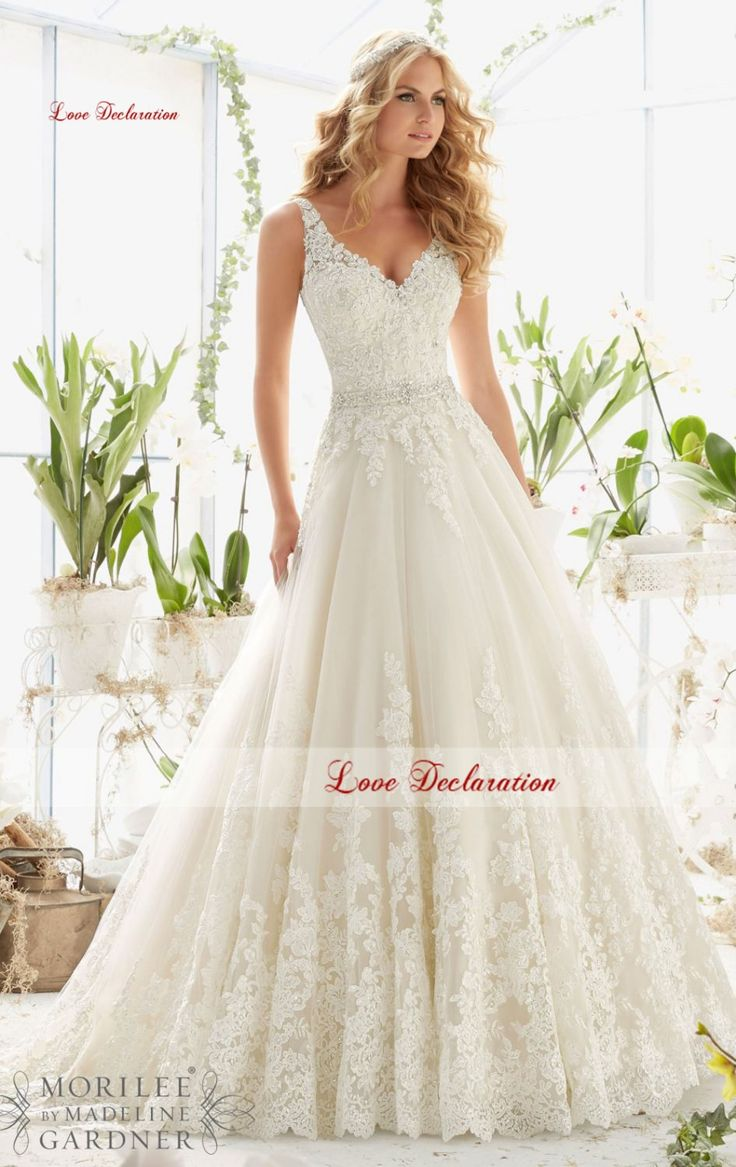 Find More Wedding Dresses Information about Vnaix Deep V Neck Spaghetti Straps with Open Back Sexy Tulle Lace A line Wedding Dresses Bridal Gown 2016,High Quality strap polyester,China spaghetti dress Suppliers, Cheap spaghetti strap bridal gown from Love Declaration Store on Aliexpress.com