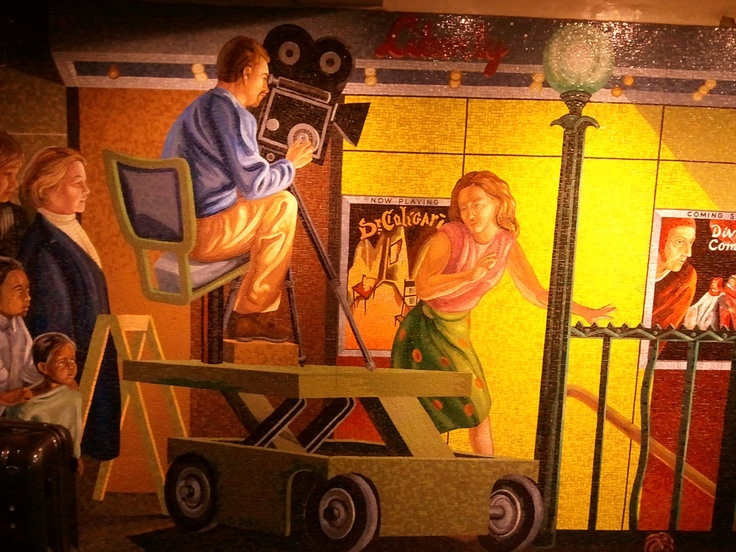 Mural at 42nd Street Station