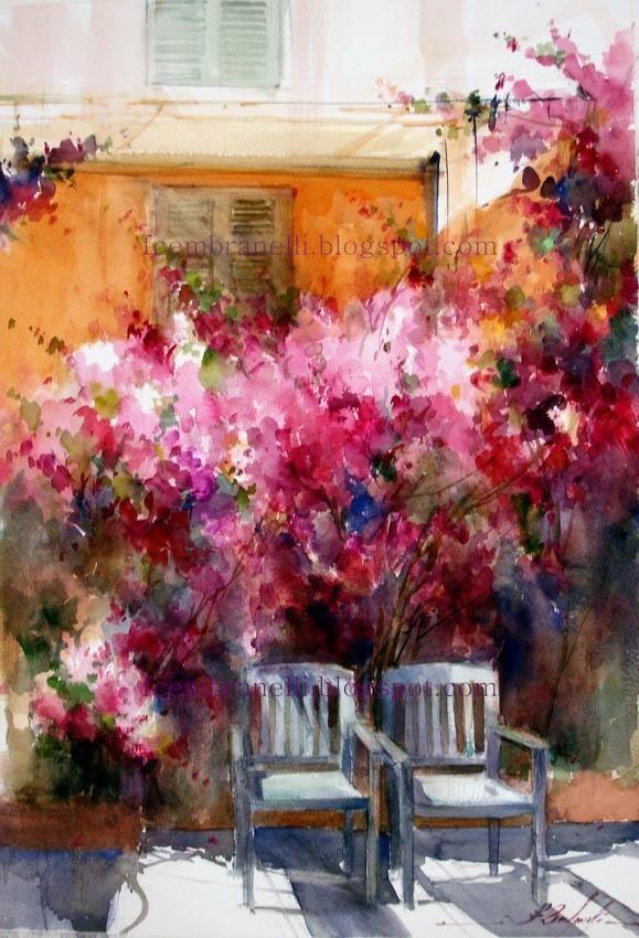 Fabio Cembranelli #watercolor http://patriciaalberca.blogspot.com.es/