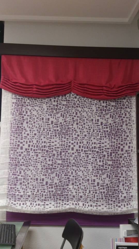 Estor con volante cortinas tienda de cortinas - Estor con cortina ...