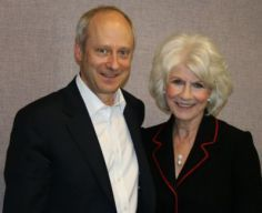Author Michael Sandel and Diane Rehm