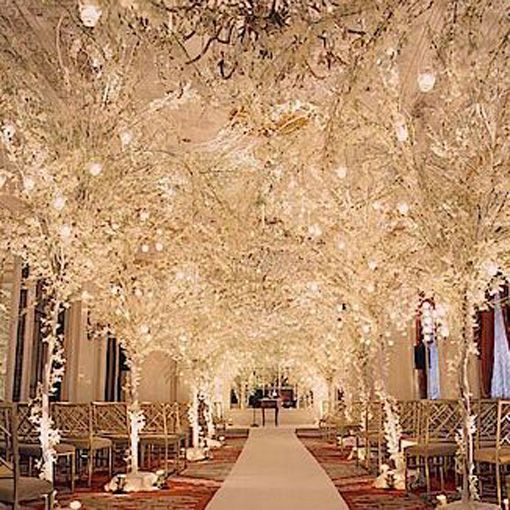 4 Of The Best White Winter Wedding Themes Wedding Ideas: Winter Wedding Decoration