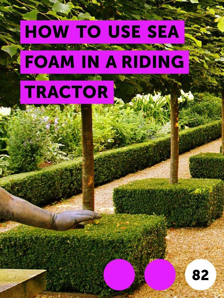 How to Use Sea Foam in a Riding Tractor | Lawn Mowers | Best