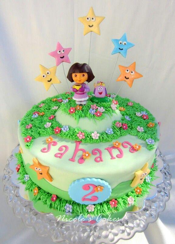 Dora cake for cairah I hope