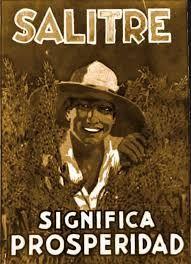 Afiche del Salitre realizado por Camilo Mori