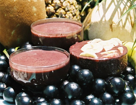 Frullato di Maqui (smoothie of maqui)