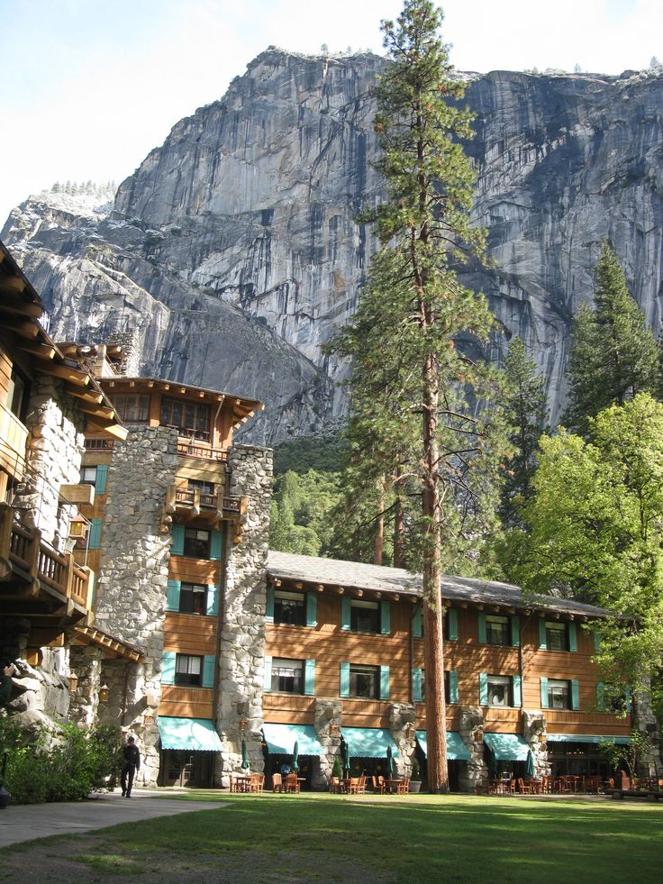 Stayed here! The beautiful Ahwahnee Hotel in Yosemite Park