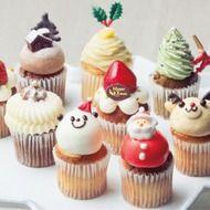 カップケーキとスコーンの店「Fairycake Fair(フェアリーケーキフェア)」で、クリスマス向けのカップケーキを詰め合わせた「クリスマスBOX」と新作「クリスマスショートケーキ」の予約販売が開始された。