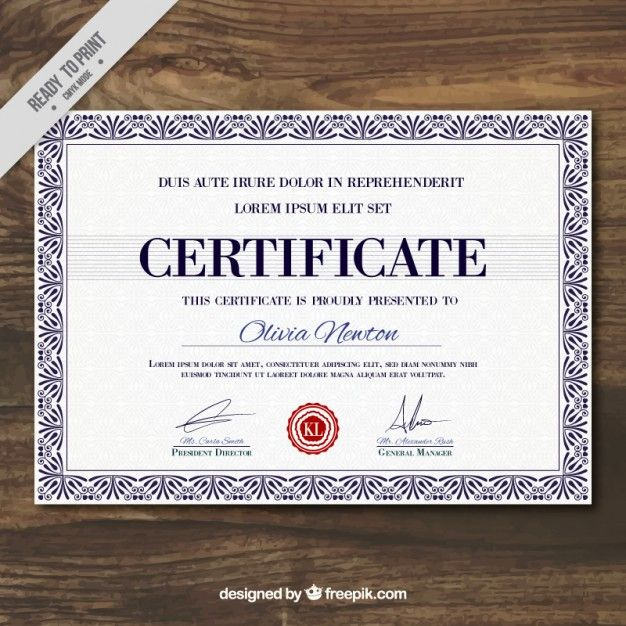 15 Best Certificates Images On Pinterest Printables