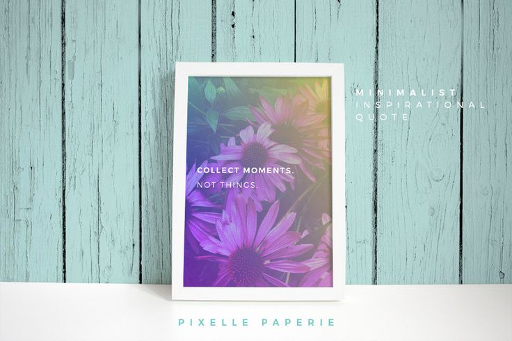 """Minimalist Print Art Poster - A4 """"Moments""""  - Instant Download by PixellePaperie on Etsy"""