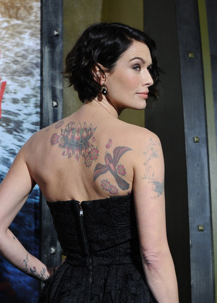 Lena Headey | tattoo