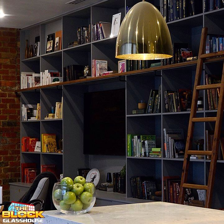 The block glasshouse bookshelf. Absolutely love this. I want a massive booksheif in my 2nd lounge or formal lounge.