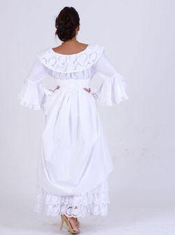 Robe Broderie FEMME créole, antillais Valencia en vente sur la boutique Dodyshop spécialisée dans la vente de vêtements traditionnels créoles. Une collection unique inspirée des traditions