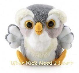 ♥ Trudi ~ Sweet Collection ~ OWL ~ Plush Quality Toy ~ GREY ~ Girls Boys Gift ♥