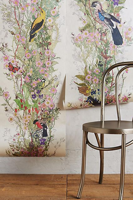 17 best images about lovely wallpaper on pinterest for Anthropologie mural