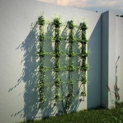 Jakob 96 in. Wire Rope Plant Trellis System-30790-0000 - The Home Depot