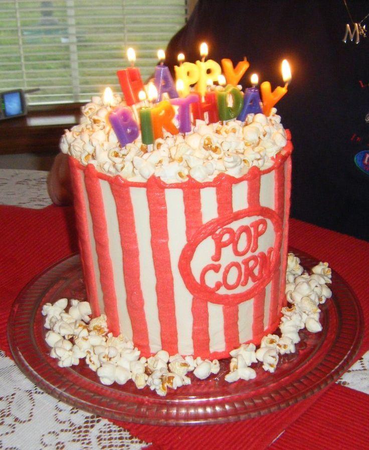 Image result for happy birthday popcorn