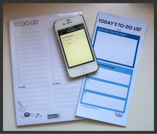 To-do Lists - PART 1: What makes a good one?  - Positively Sorted Blog