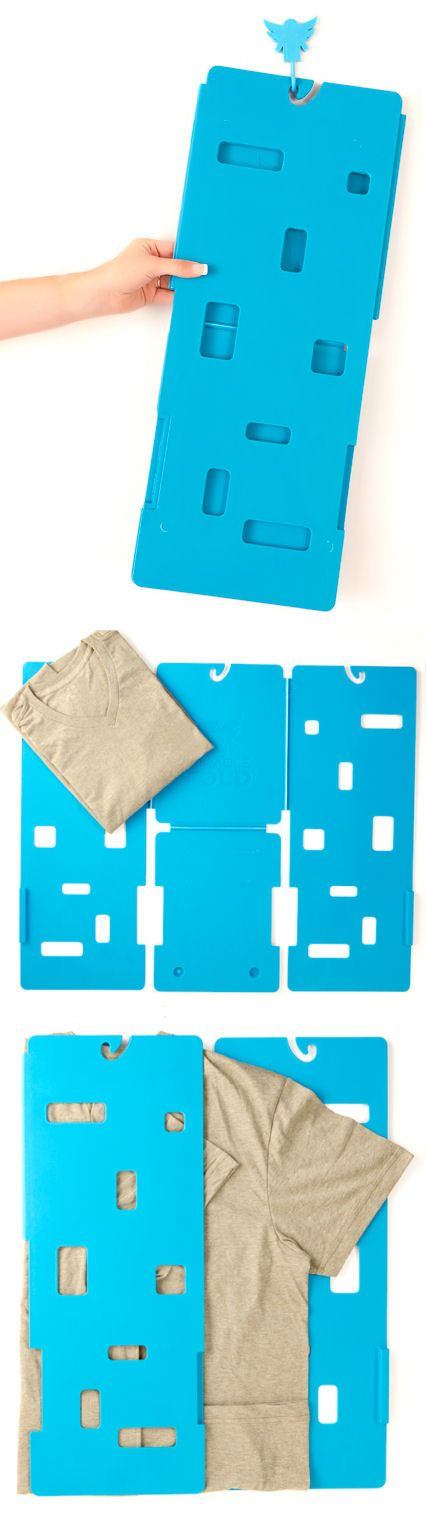 The Best Laundry Companion Ever ♥ The T-Shirt Folder! #love #need #want