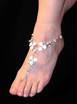 Dare to Go Bare With Stunning Barefoot Sandals - Sandals Wedding Blog