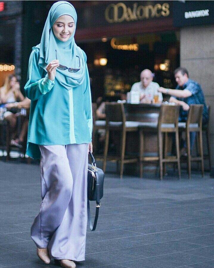 Instant Shawl Blouse Palazzo Bellammara Hijab Pinterest Palazzo Shawl And Blouses