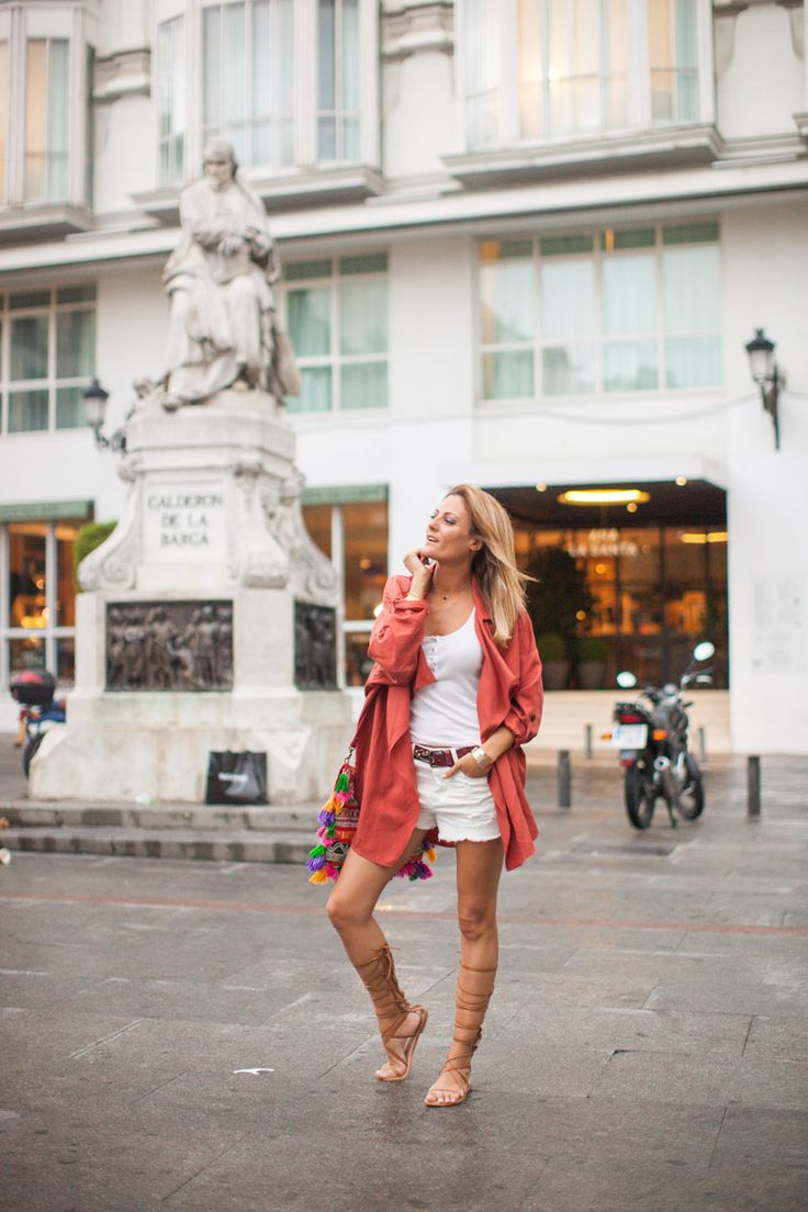 follie follie, hm, conscious coolection, shorts, zara, sandalias romanas, bolso hippie, mango, another stories, cristina blanco, guia de estilo, guiadeestilo, fashion blogger