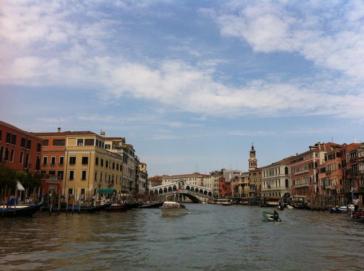 The famous Rialto Bridge.  Venezia