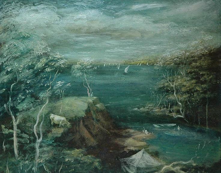Lake Macquarie by Sir William Dobell