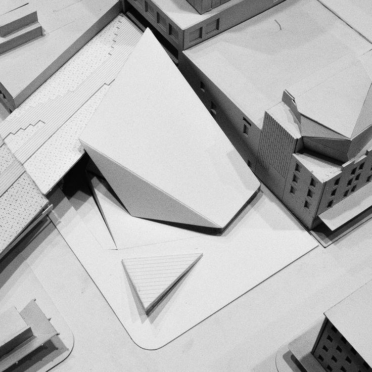 Architectural Model | Dance Machine | Yale School of Architecture