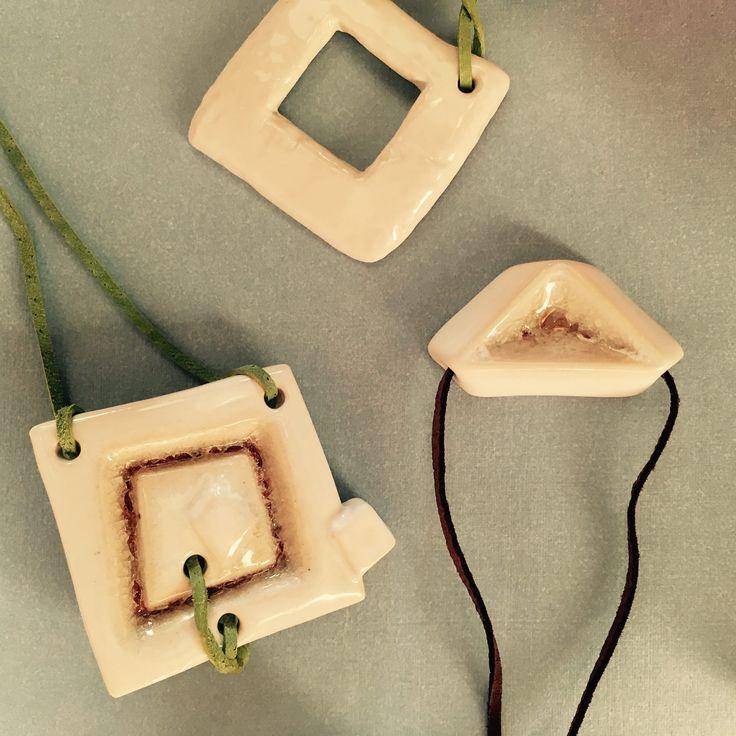 Keramické šperky - poloporcelán