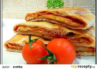 Stromboli, aneb horká kapsa recept - TopRecepty.cz