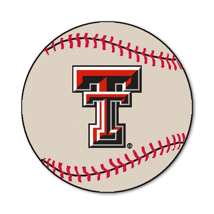 Texas Tech Red Raiders NCAA Baseball Round Floor Mat (29)   - Another pin closer to a million pins! Wrhel.com