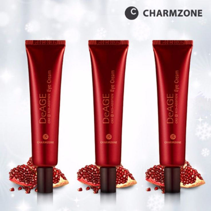 CHARMZONE DeAge Red Edition Eye Cream 25ml #CHARMZONE