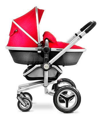 Silver Cross Surf 3 Complete Pram and Pushchair - Chilli & Silver