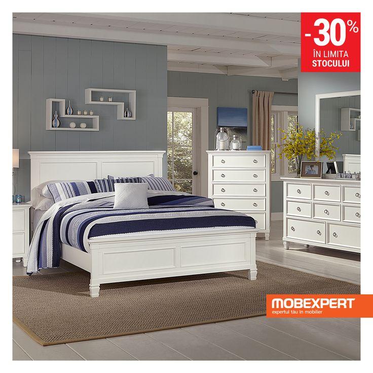Patul Astrid este piesa de mobilier estetica si versatila, de care aveti nevoie pentru amenajarea unui dormitor confortabil. Desi realizat in linii simple, patul se face remarcat gratie formelor deosebite, in timp ce culoarea ii confera dormitorului luminozitate.
